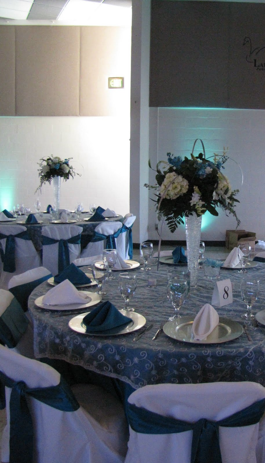 Beach Wedding Centerpieces are