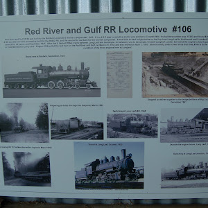 Red River and Gulf #106 was built by the Baldwin Locomotive works in September, 1923. It is a 4-6-0 type locomotive and is very similar to Crowell #400. Its builders number was 57203 and it cost ...
