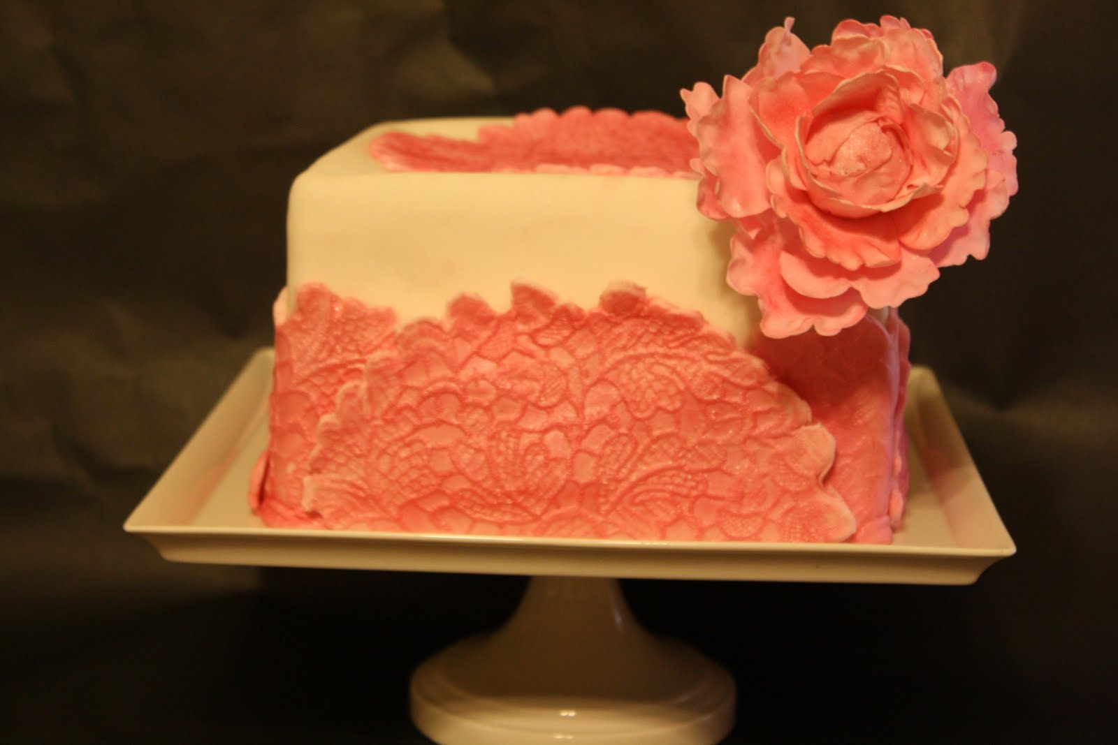 cake boss square wedding cakes