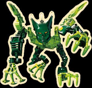 """Конструктор """"RoboBlock"""" Зеленый Воин S"""
