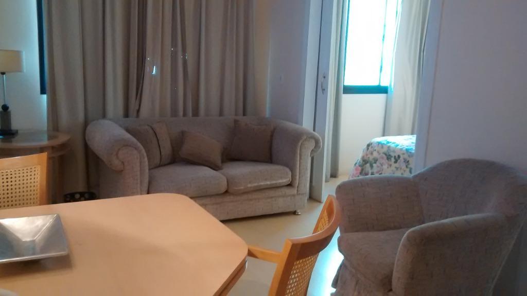 Flat com 1 dormitório para alugar, 30 m² por R$ 3.300/mês - Jardim Paulista - São Paulo/SP