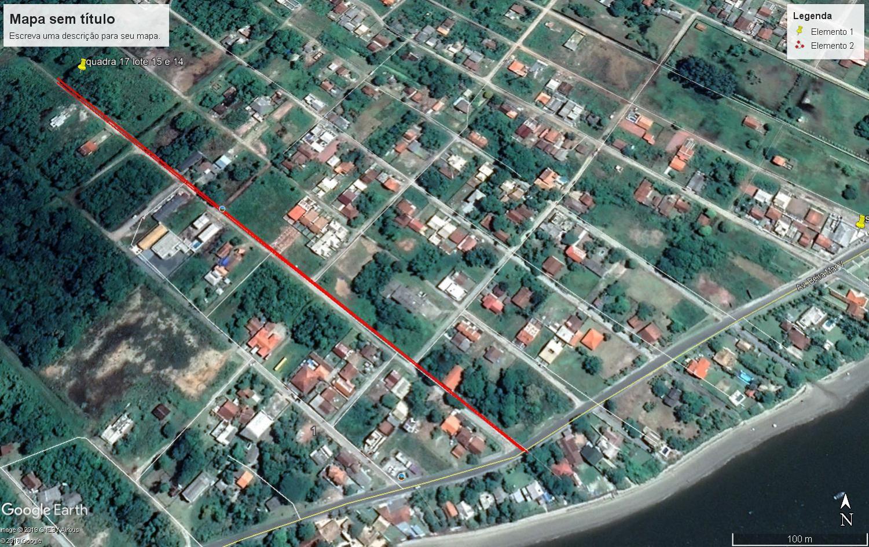 Terreno de esquina, próximo ao Porto de Itapoá