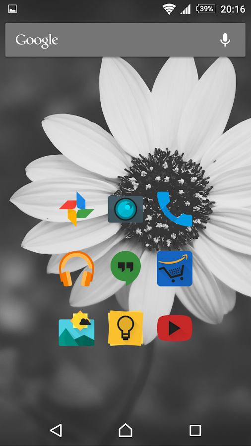 Glim Dark - Icon Pack Screenshot 2