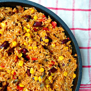 One Pan Mexican Rice