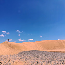 Dune by Gil Reis - Instagram & Mobile Android ( dunes, desert, nature, places, people, spain )