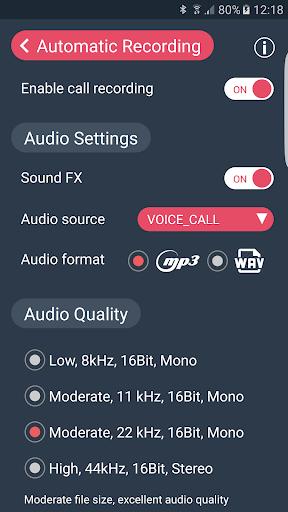 Call Recorder : Automatic Call Recorder - callX screenshot 6