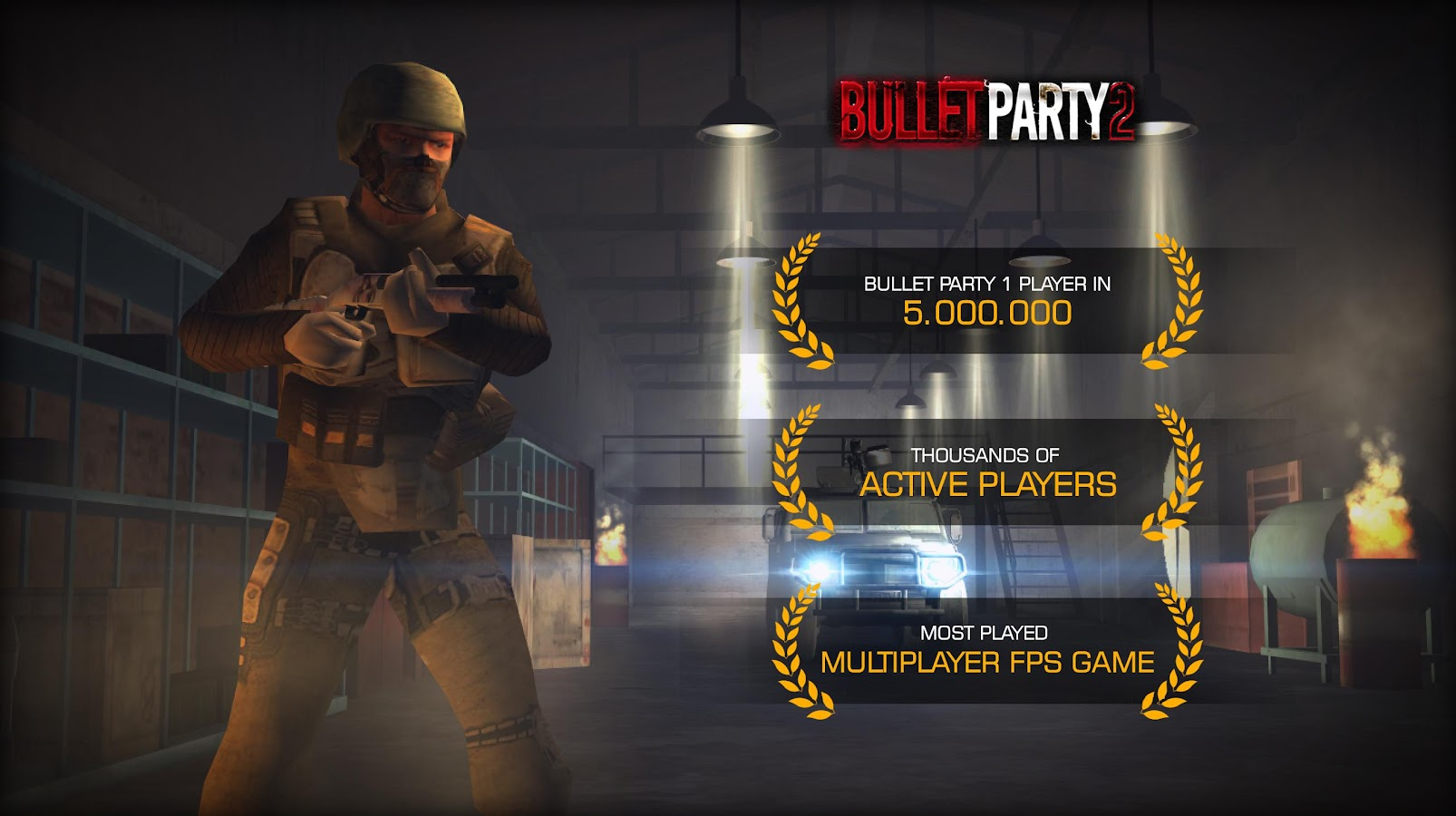 Bullet Party CS 2 : GO STRIKE Screenshot 9