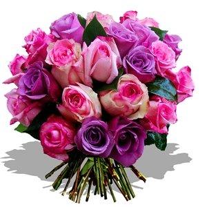 Flores con Bonitos Mensajes de Cumpleaños ツ Imagenes  - Ramo De Flores Imagenes