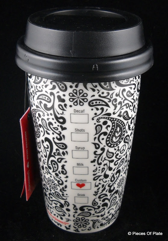 starbucks 2010 jonathan adler ceramic travel mug new with