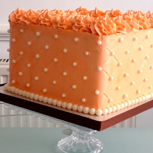 Peach Buttercream Cake