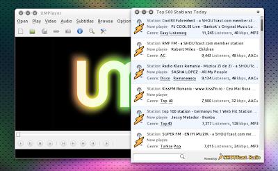Umplayer shoutcast