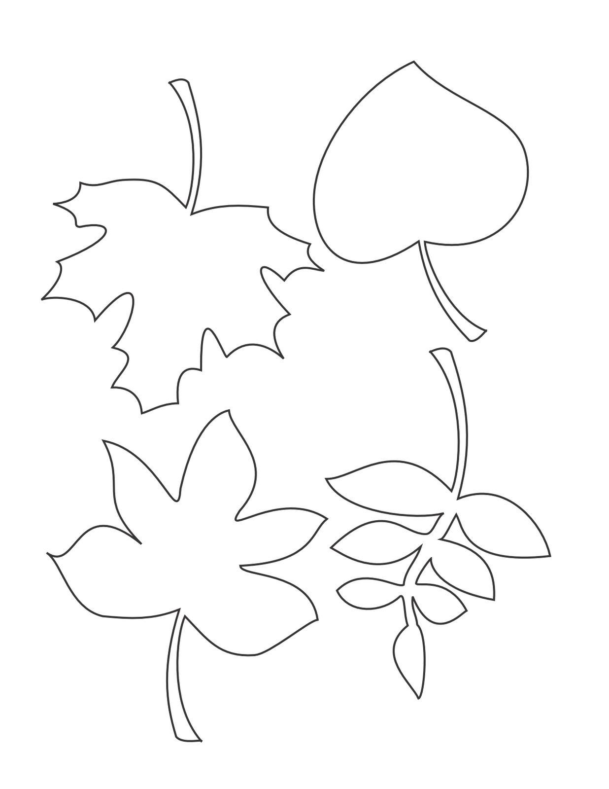 Coloring Pages DLTK's Crafts for Kids - autumn coloring pages printable