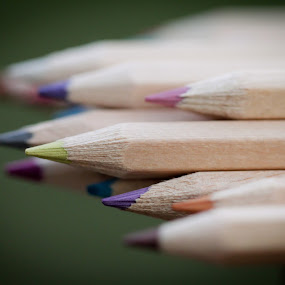 by Cristina Casati - Artistic Objects Other Objects ( macro, canon eos 60d, colors, italy, mariacristina casati, pencils )