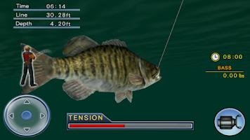 Screenshot of Bass Fishing 3D on the Boat
