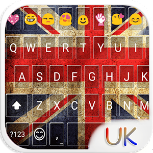 UK Keyboard Emoji Skin