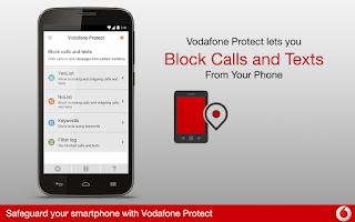 Screenshot of Vodafone Protect