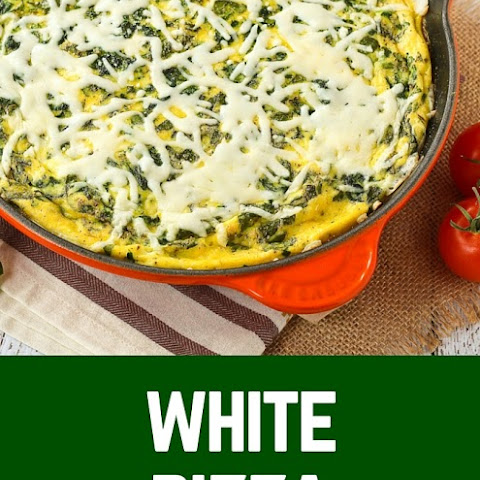 White Pizza Frittata