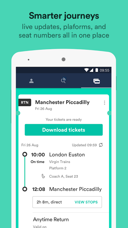 Trainline – times & tickets Screenshot 4