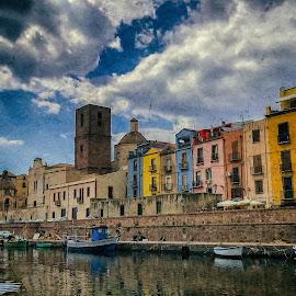 Bosa - Sardinia by Antonello Madau - Instagram & Mobile iPhone