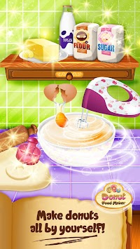 Donut food maker cooking games apk by bubblebee free casual donut food maker cooking games apk screenshot solutioingenieria Gallery