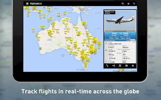 Screenshot of Flightradar24 - Flight Tracker