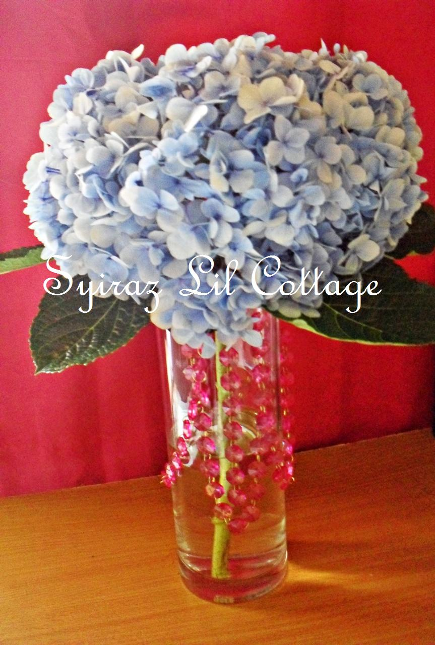 Labels: centerpiece, hydrangea