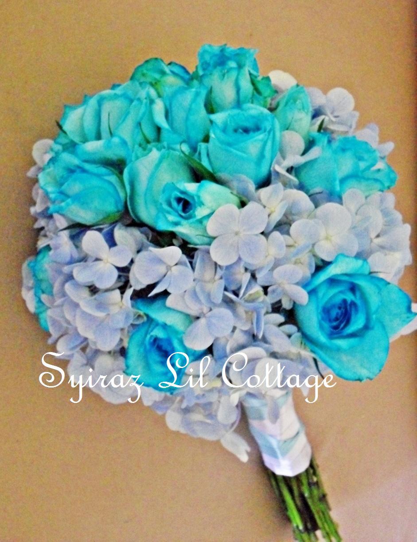 Bridal Bouquet - Turquoise