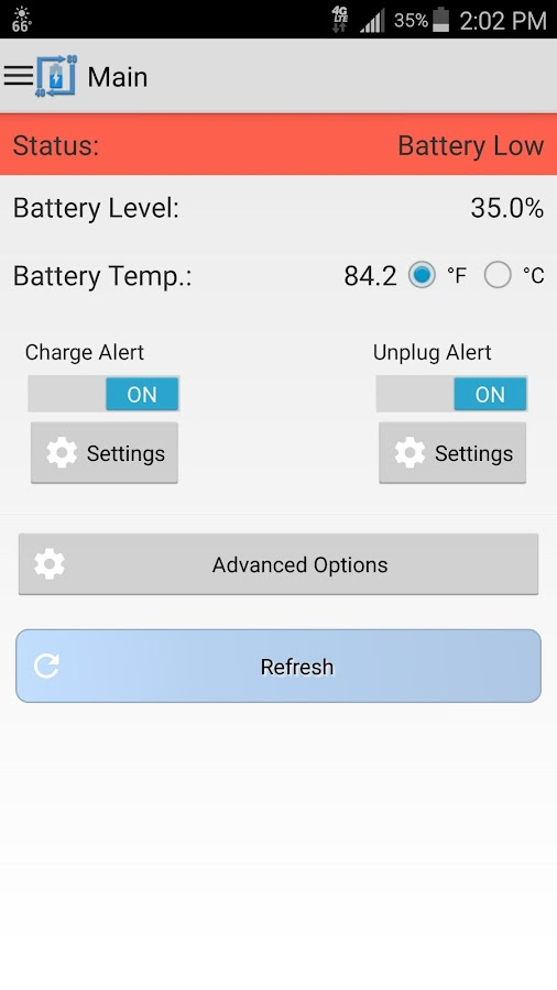 Battery Alert 40-80 Pro Screenshot 1