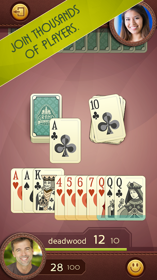 Grand Gin Rummy Screenshot 0