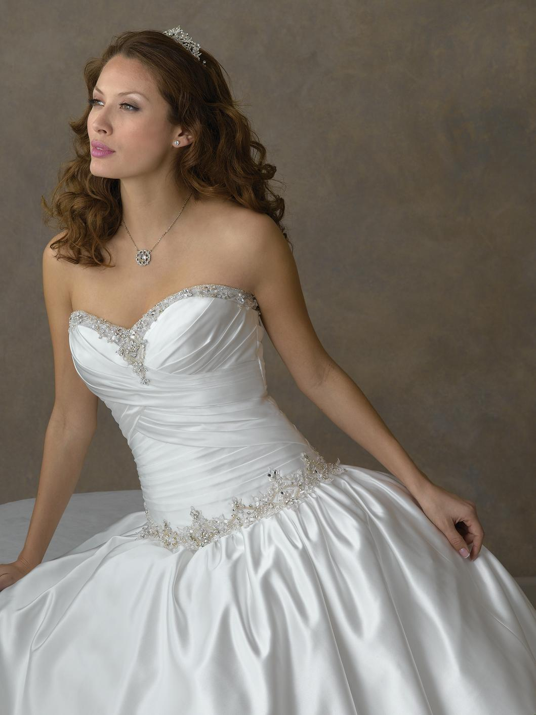 Corsetted Mini Wedding Dress From hersera