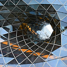 Glass and Aluminum by Marcel Cintalan - Buildings & Architecture Office Buildings & Hotels ( frankfurt, aluminum, glass, office building, architecture )
