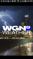Screenshot of WGN Weather