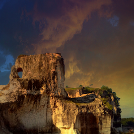 limestone hill by Herry (Himura Kenshin) - Instagram & Mobile Android