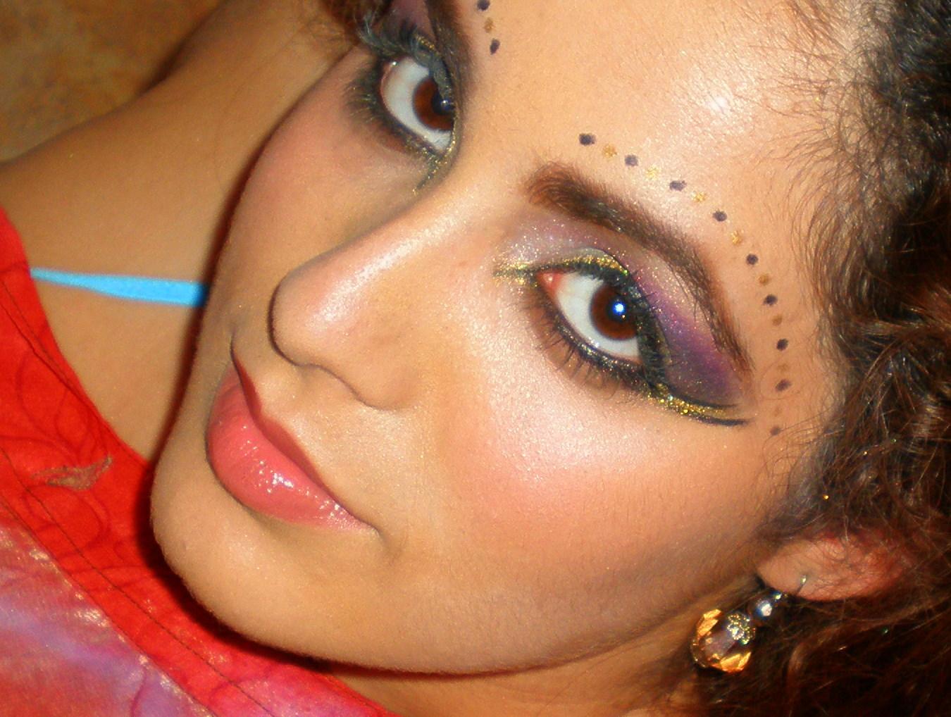 Bintous Blog Arabic Bridal Makeup