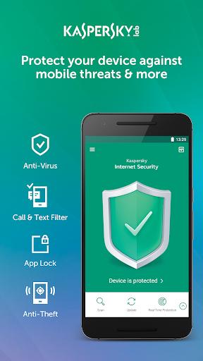 Kaspersky Mobile Antivirus: AppLock & Web Security screenshot 1