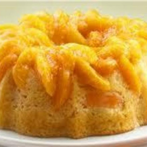 """Seconds Please!"" Peach Cake"