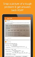Screenshot of Chegg: Textbooks & Study Help