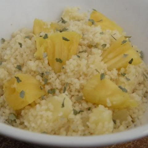 Pineapple Cilantro couscous~ great light side dish