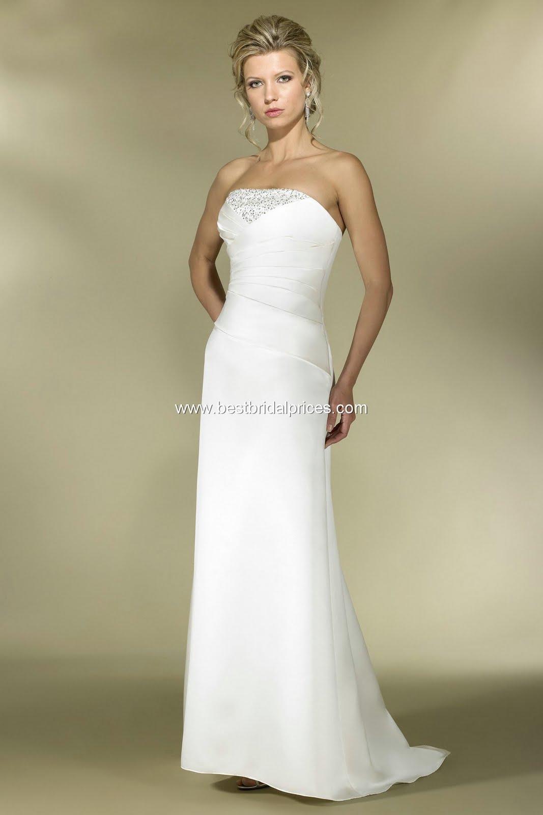 plain silk wedding gowns plain wedding dresses Ivory Informal Wedding Dresses Sheath V Neck Beaded Lace
