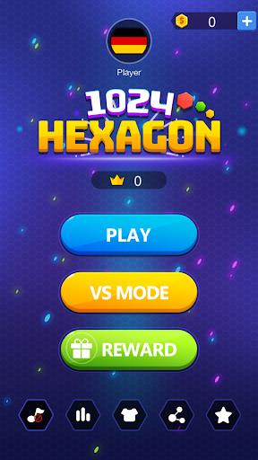 1024 Hexagon screenshot 1