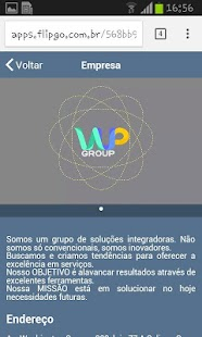 Wup Group - screenshot