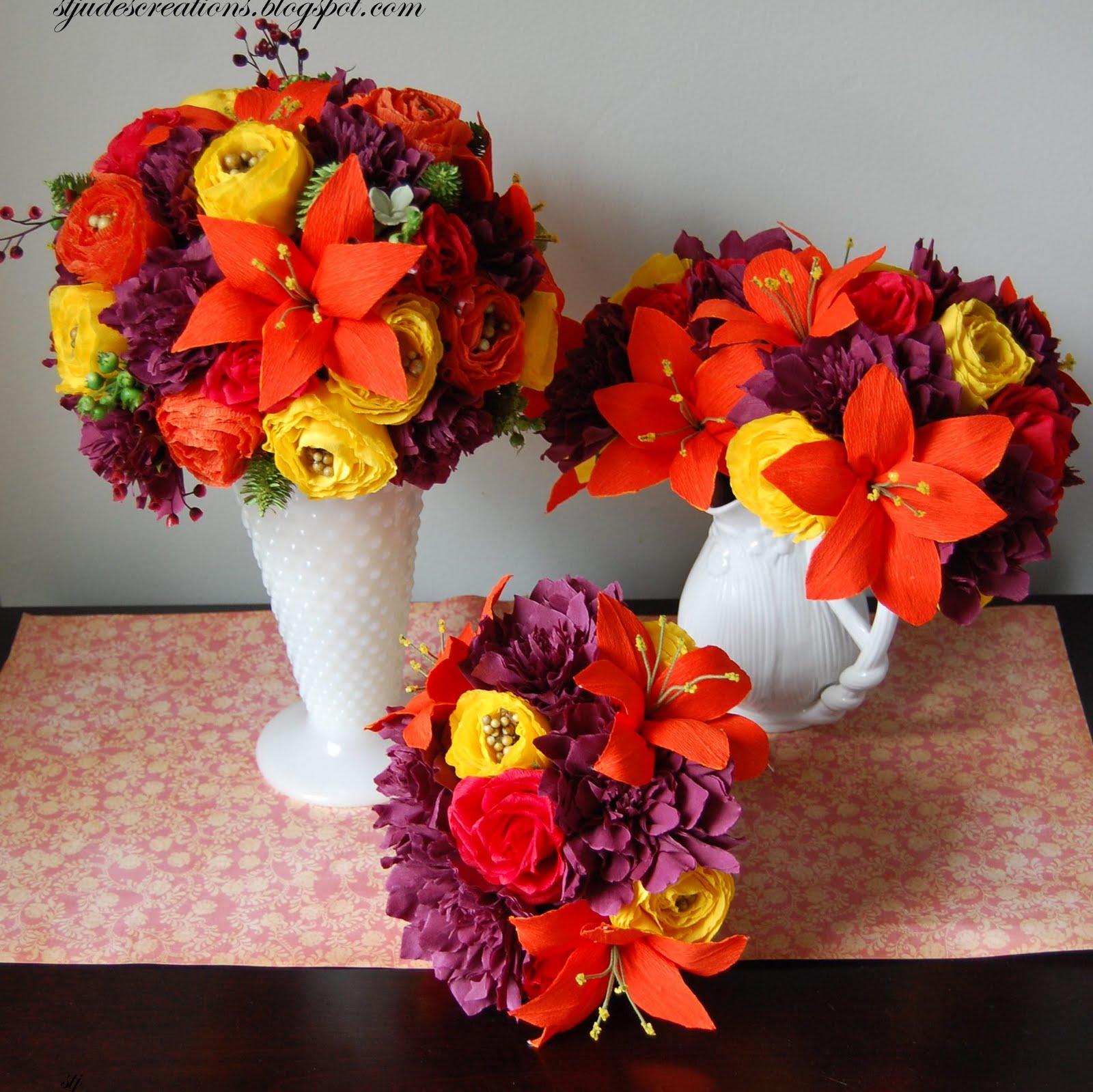 fall wedding flowers!
