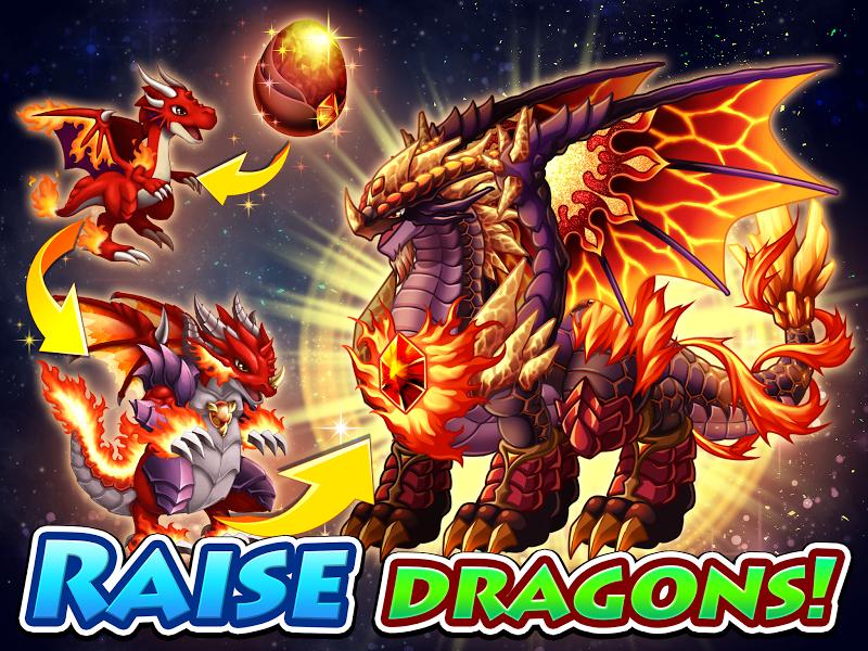 Dragon x Dragon -City Sim Game Screenshot 0