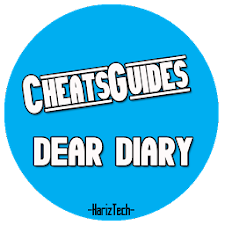 Cheats Guide DEAR DIARY GAME