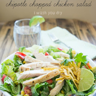 Zesty Chipotle Chopped Chicken Salad
