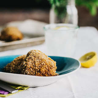 Crispy Oven Fried Panko Chicken Thighs