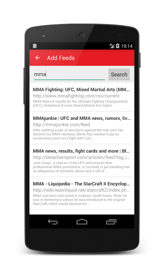 MMA News Pro Screenshot 6