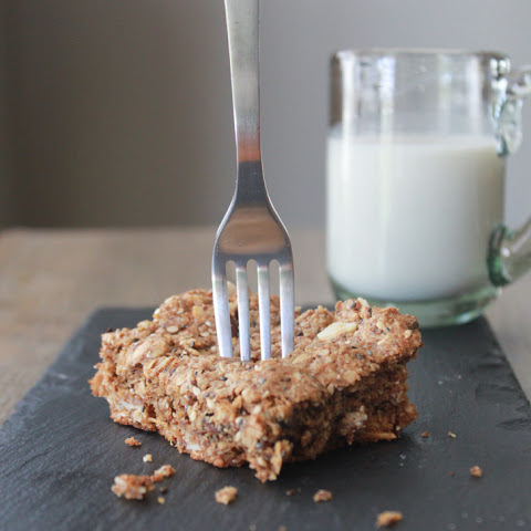 Oat, Nutty Seed Bars.