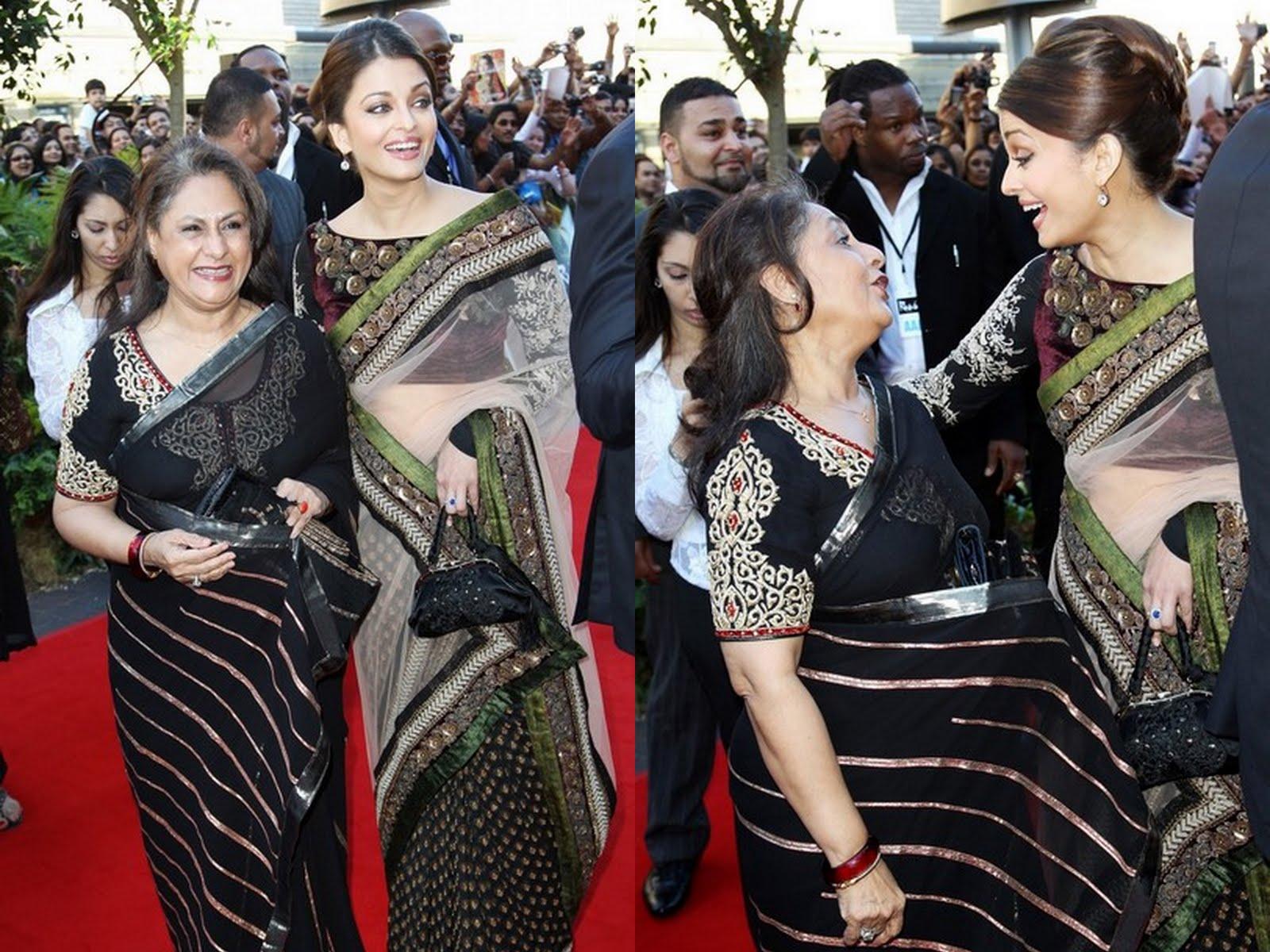 Aishwarya Rai and Jaya