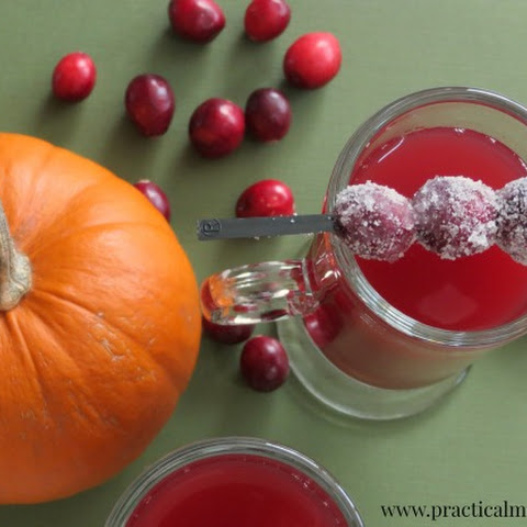 Crockpot Cranberry Apple Sweet Tea Cider